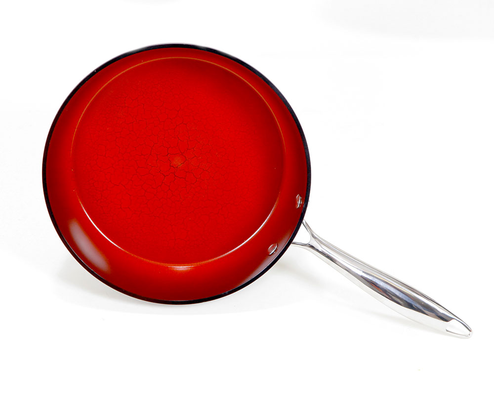 Fire And Earth 9 5 Pressed Fry Pan 8719 Shop Gotham Steel